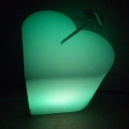 Traumkerzen herzförmig mit LED Licht